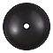 Vasque à poser ronde pierre naturelle noire COOKE & LEWIS Tumen