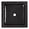 Vasque à poser carrée pierre naturelle noire Cooke & Lewis Sulm