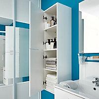 Colonne de salle de bains blanc Slapton