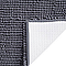 Tapis de bain antidérapant gris 50 x 80 cm Abava