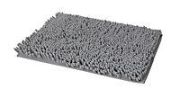 Tapis de bain antidérapant argent 50 x 80 cm Abava