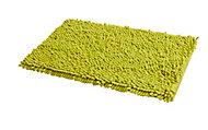 Tapis de bain antidérapant vert 80 x 50 cm Abava