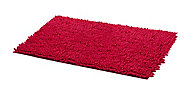 Tapis de bain antidérapant rose 80 x 50 cm Abava