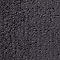 Tapis de bain antidérapant gris 50 x 45 cm Diani