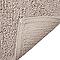 Tapis de bain antidérapant beige 50 x 45 cm Diani