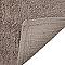 Tapis de bain antidérapant taupe 50 x 45 cm Diani