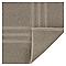 Tapis de bain taupe 50 x 80 cm Palmi