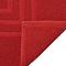 Tapis de bain rouge 50 x 80 cm Palmi