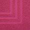 Tapis de bain rose 50 x 80 cm Palmi
