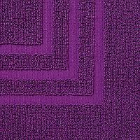 Tapis de bain violet 50 x 80 cm Palmi
