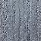 Tapis de bain antidérapant coton bleu 50 x 80 cm Vorma