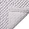 Tapis de bain antidérapant blanc 50 x 80 cm Chanza