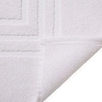 Tapis de bain blanc 60 x 90 cm Palmi
