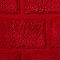 Tapis de bain antidérapant rouge 60 x 90 cm Managua