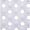Tapis de bain antidérapant blanc 40 x 70 cm
