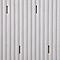 Tapis de bain antidérapant blanc 40 x 70 cm Drina
