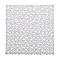 Tapis de bain antidérapant transparent 55 x 55 cm Batumi