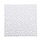 Tapis de bain antidérapant blanc 55 x 55 cm Batumi