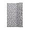 Tapis de bain antidérapant argent 55 x 55 cm Batumi