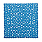 Tapis de bain antidérapant bleu 55 x 55 cm Batumi