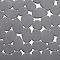 Tapis de bain antidérapant argent 40 x 70 cm Batumi