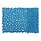Tapis de bain antidérapant bleu 40 x 70 cm Batumi