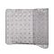 Tapis de bain antidérapant gris décor pailleté 40 x 70 cm Nosara