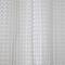 Rideau de douche en plastique PEVA transparent décor gaufré L.180 x H.200 cm Lacha