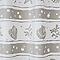 Rideau de douche en plastique PEVA multicolore décor coquillage L.180 x H.200 cm Diso