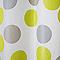 Rideau de douche en plastique PEVA multicolore décor points L.180 x H.200 cm Suru