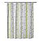 Rideau de douche en plastique PEVA multicolore décor bambou L.180 x H.200 cm Kuyto