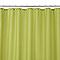Rideau de douche en tissu vert uni L.180 x H.200 cm Diani