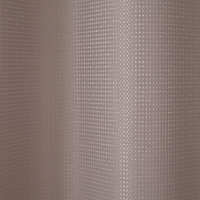 Rideau de douche tissu taupe 180 x 200 cm Cecina