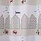 Rideau de douche en tissu mutlicolore décor plage L.180 x H.200 cm Lago