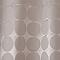 Rideau de douche en tissu taupe décor points L.180 x H.200 cm Napo