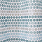 Rideau de douche en tissu bleu L.180 x H.200 cm Amaradia