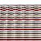 Rideau de douche en tissu rouge L.180 x H.200 cm Navesti