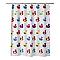 Rideau de douche tissu multicolore décor canard L.180 x H.200 cm Yojoa