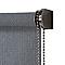 Store enrouleur tamisant COLOURS Iggy gris 60 x 240 cm