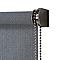 Store enrouleur tamisant Colours Iggy gris 180 x 240 cm