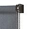 Store enrouleur tamisant COLOURS Iggy gris 75 x 240 cm
