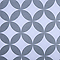 Store enrouleur tamisant Colours Halo motifs blanc et gris 90 x 195 cm