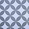 Store enrouleur tamisant Colours Halo motifs blanc et gris 55 x 195 cm