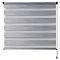 Store enrouleur jour/nuit Colours Kala gris 90 x 180 cm