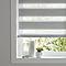 Store enrouleur jour/nuit COLOURS Kala gris 160 x 180 cm