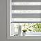 Store enrouleur jour/nuit COLOURS Kala gris 55 x 180 cm