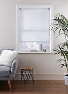 Store enrouleur Colours Ist blanc lignes 90 x 195 cm
