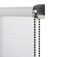 Store enrouleur Colours Ist blanc lignes 55 x 195 cm