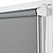 Store enrouleur occultant COLOURS Boreas gris 160 x 180 cm
