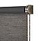 Store enrouleur occultant Colours Ilas polyester gris 120 x 180 cm